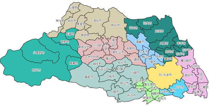 埼玉県 ヤマト運輸 マップ